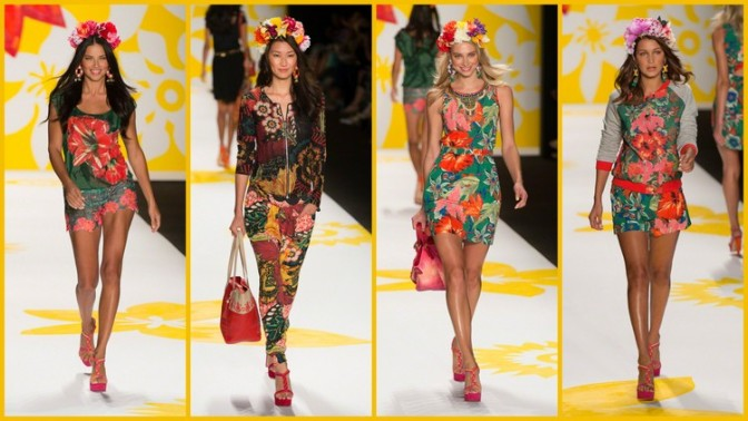 "Desigual ""Say Something Nice"" SS15 Collection"