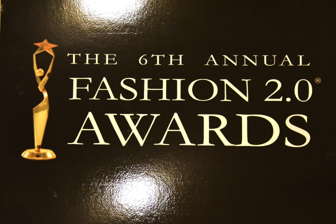The 6th Annual Fashion 2.0 Awards