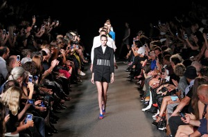 Alexander Wang New York Fashion Week  Spring Summer 15 New York September 2014