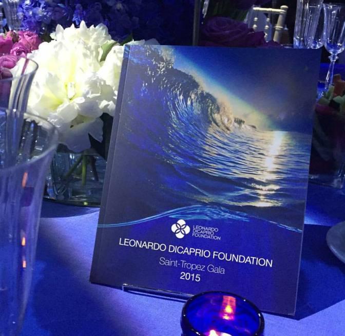Leonardo DiCaprio Foundation St. Tropez Gala
