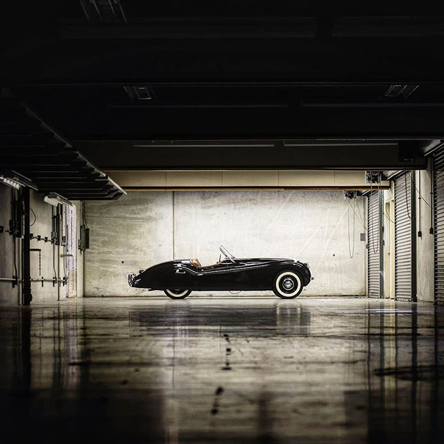 Clark Gabel's Jaguar XJ120