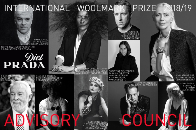 International Woolmark Prize announces expert Advisory Council and this year's nominees